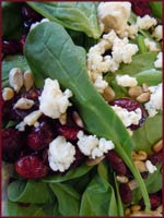 Austin caterer Spinach Salad